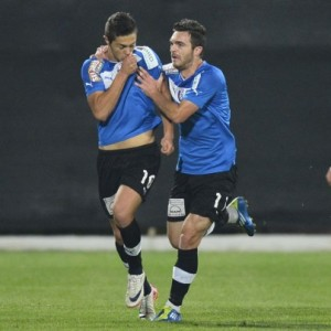 Iancu (left) can kiss goodbye Viitorul's blue shirt.